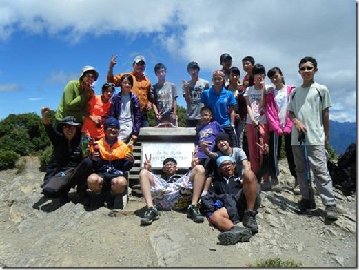 合歡山-北峰-極限挑戰營